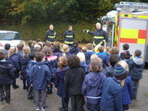Visit from the Fire Service